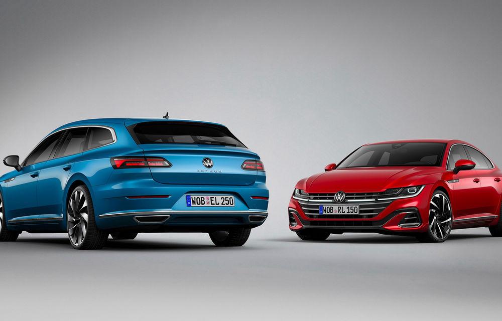 Volkswagen prezintă Arteon facelift și primul Arteon Shooting Brake: gama include o variantă plug-in hybrid de 218 CP și versiune de performanță de 320 CP - Poza 17