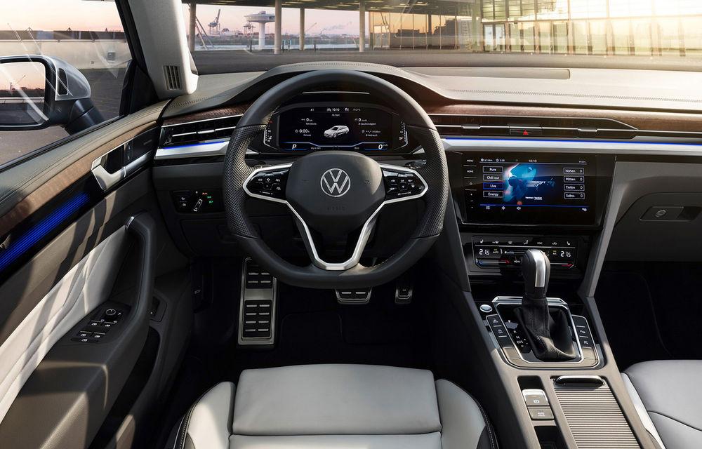 Volkswagen prezintă Arteon facelift și primul Arteon Shooting Brake: gama include o variantă plug-in hybrid de 218 CP și versiune de performanță de 320 CP - Poza 96