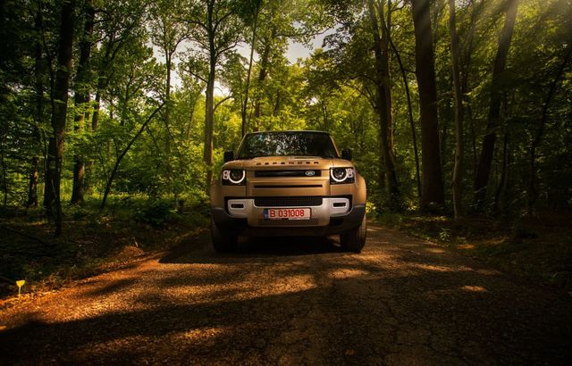 Test drive Land Rover Defender