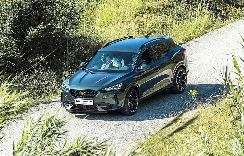 Cupra va deschide listele de comenzi pentru Formentor în luna iulie: SUV-ul de performanță cu până la 310 CP este asamblat la Martorell - Poza 1