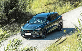 Cupra va deschide listele de comenzi pentru Formentor în luna iulie: SUV-ul de performanță cu până la 310 CP este asamblat la Martorell