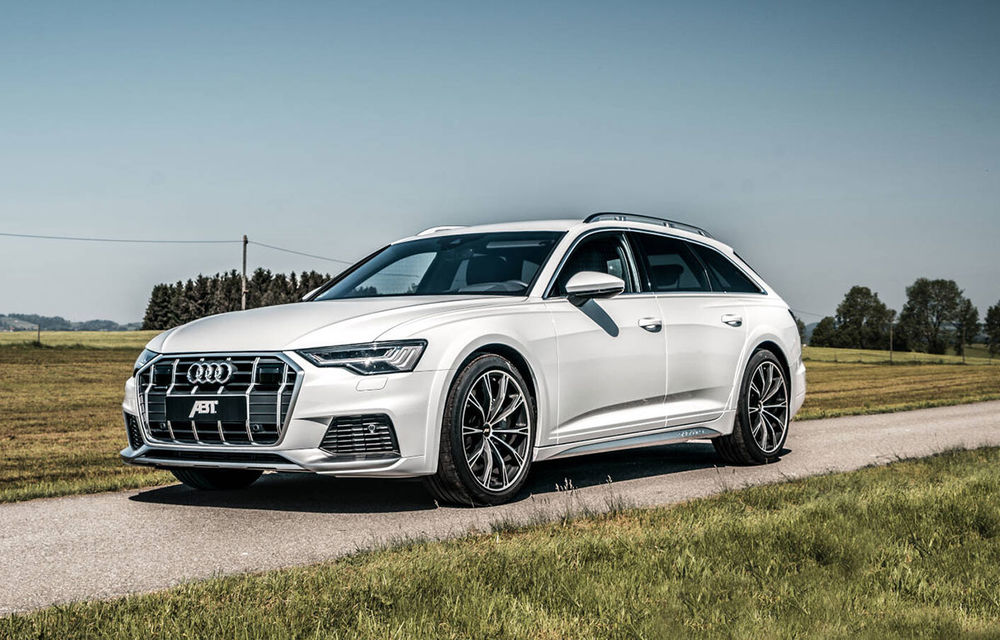 ABT a pregătit pachete de performanță pentru Audi A6 Allroad: versiune pe benzină cu 408 CP și variante diesel cu până la  384 CP - Poza 1