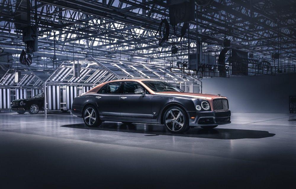 Bentley a încheiat producția modelului Mulsanne: peste 7.300 de unități într-un deceniu - Poza 1