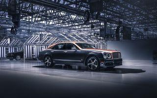Bentley a încheiat producția modelului Mulsanne: peste 7.300 de unități într-un deceniu