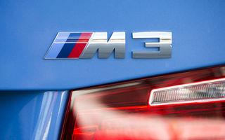 BMW a publicat primul clip video cu prototipul viitorului M3: nemții oferă detalii din timpul testelor