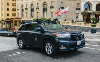 Amazon vrea să cumpere o companie americană ce dezvoltă vehicule autonome: un miliard de dolari pentru start-up-ul Zoox