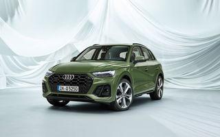 Audi a prezentat Q5 facelift: stopuri cu OLED, îmbunătățiri pentru interior și motorizare diesel mild-hybrid