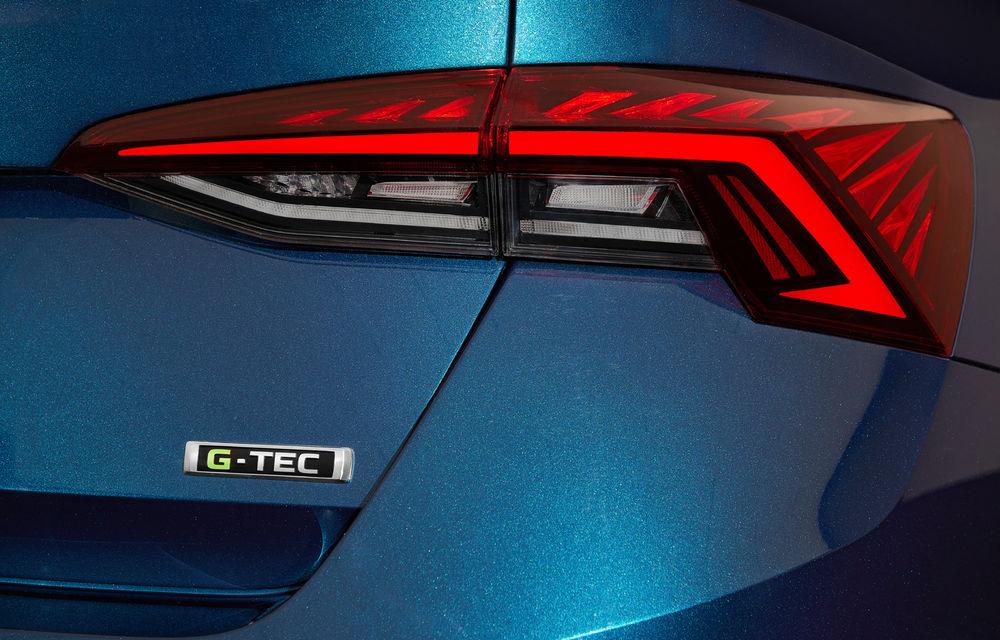 Noua generație Skoda Octavia primește o versiune cu gaz natural comprimat: motor turbo de 1.5 litri și 131 de cai putere - Poza 3
