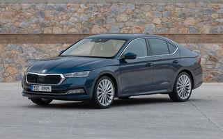 Noua generație Skoda Octavia primește o versiune cu gaz natural comprimat: motor turbo de 1.5 litri și 131 de cai putere