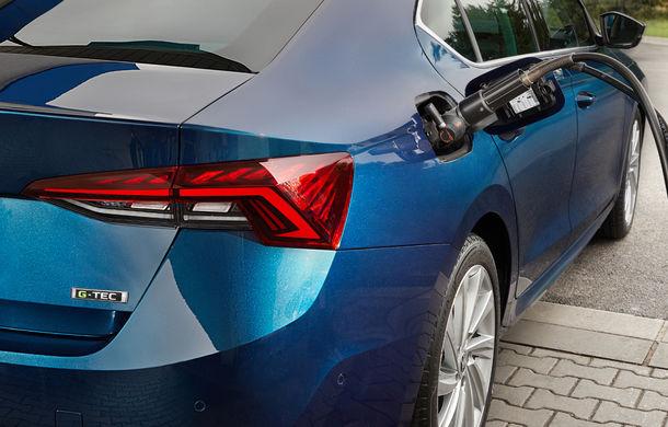 Noua generație Skoda Octavia primește o versiune cu gaz natural comprimat: motor turbo de 1.5 litri și 131 de cai putere - Poza 4