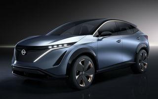 Nissan pregătește versiunea de serie pentru conceptul Ariya: noul SUV electric va fi prezentat oficial în 15 iulie