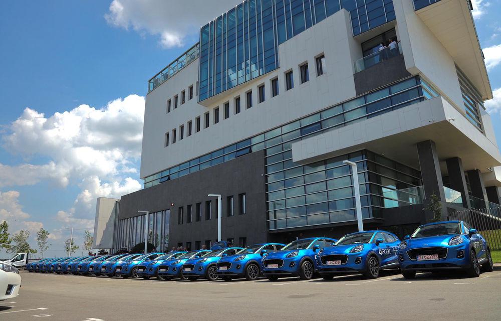 Ford livrează o flotă de 100 de unități Puma în România: mașinile au fost cumpărate de proprietarului brandului QFort - Poza 2