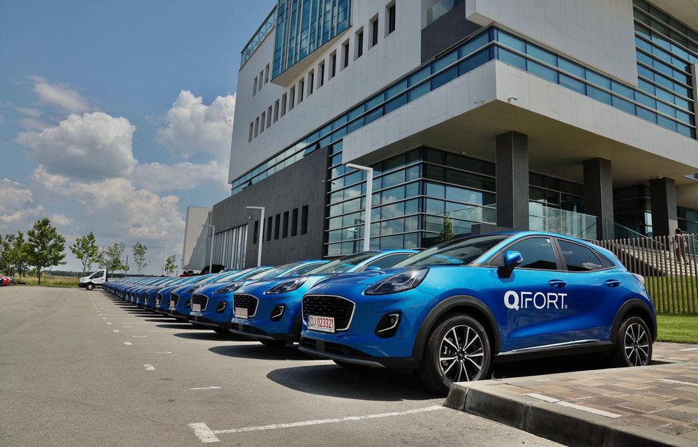 Ford livrează o flotă de 100 de unități Puma în România: mașinile au fost cumpărate de proprietarului brandului QFort - Poza 3