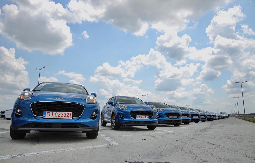 Ford livrează o flotă de 100 de unități Puma în România: mașinile au fost cumpărate de proprietarului brandului QFort - Poza 1