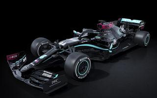 Mercedes schimbă culorile noului monopost: Hamilton și Bottas vor concura în negru ca măsură pentru lupta împotriva rasismului