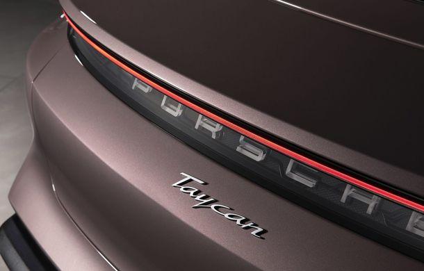 """Porsche Taycan are o nouă versiune de bază în China: modelul electric va fi disponibil în varianta simplă """"Taycan"""" și va avea o autonomie de până la 490 de kilometri - Poza 8"""