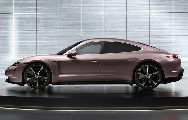 """Porsche Taycan are o nouă versiune de bază în China: modelul electric va fi disponibil în varianta simplă """"Taycan"""" și va avea o autonomie de până la 490 de kilometri - Poza 4"""
