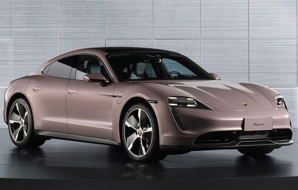 """Porsche Taycan are o nouă versiune de bază în China: modelul electric va fi disponibil în varianta simplă """"Taycan"""" și va avea o autonomie de până la 490 de kilometri - Poza 2"""