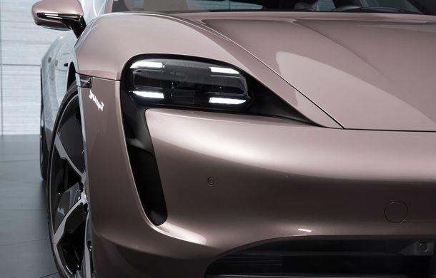 """Porsche Taycan are o nouă versiune de bază în China: modelul electric va fi disponibil în varianta simplă """"Taycan"""" și va avea o autonomie de până la 490 de kilometri - Poza 6"""