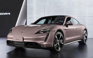 """Porsche Taycan are o nouă versiune de bază în China: modelul electric va fi disponibil în varianta simplă """"Taycan"""" și va avea o autonomie de până la 490 de kilometri"""