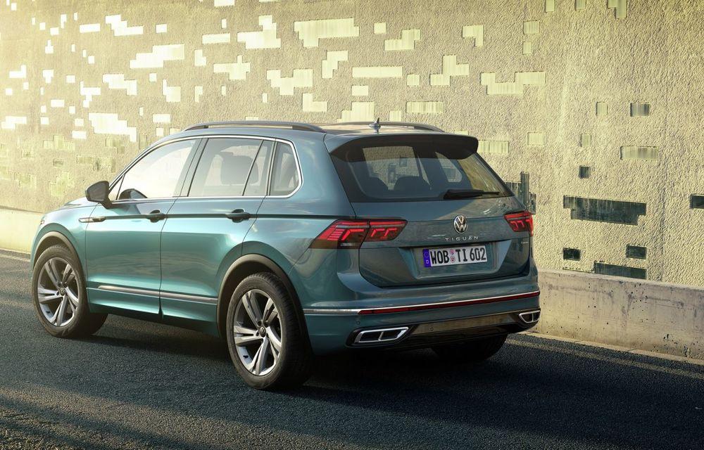 Volkswagen a prezentat Tiguan facelift: SUV-ul compact are versiune plug-in hybrid cu autonomie de până la 50 de kilometri și variantă de performanță cu 320 CP - Poza 13