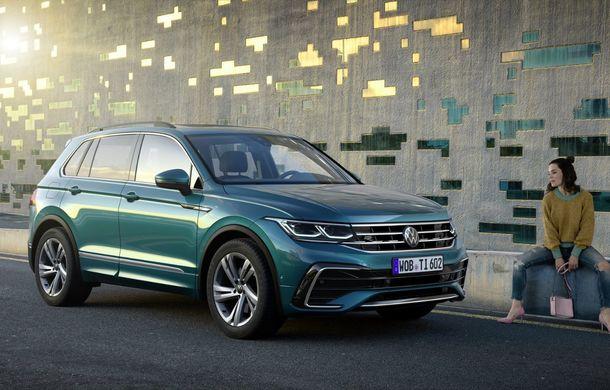 Volkswagen a prezentat Tiguan facelift: SUV-ul compact are versiune plug-in hybrid cu autonomie de până la 50 de kilometri și variantă de performanță cu 320 CP - Poza 6
