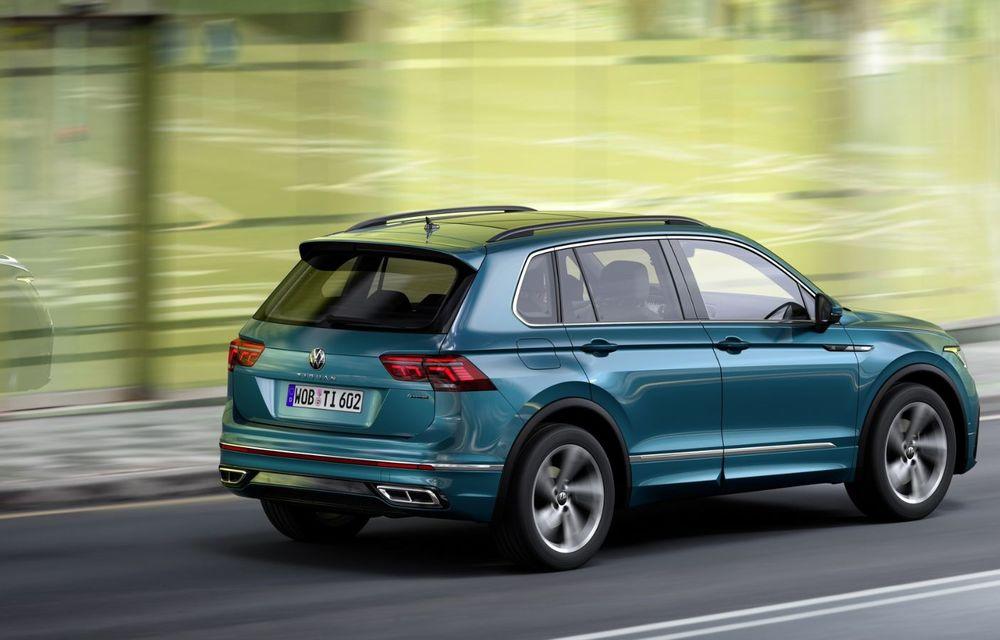 Volkswagen a prezentat Tiguan facelift: SUV-ul compact are versiune plug-in hybrid cu autonomie de până la 50 de kilometri și variantă de performanță cu 320 CP - Poza 9