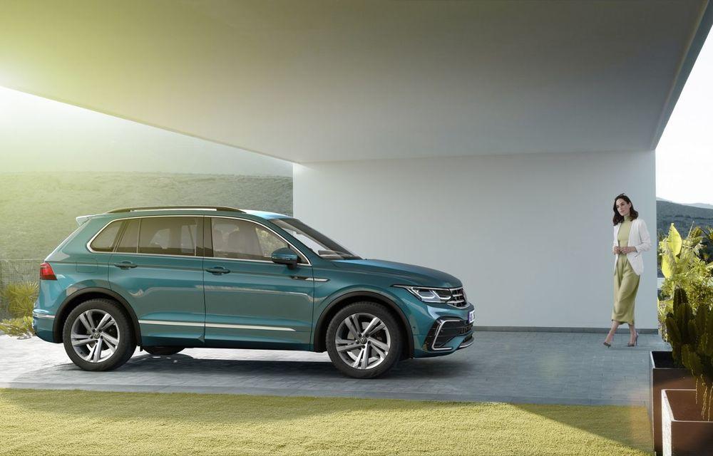 Volkswagen a prezentat Tiguan facelift: SUV-ul compact are versiune plug-in hybrid cu autonomie de până la 50 de kilometri și variantă de performanță cu 320 CP - Poza 5