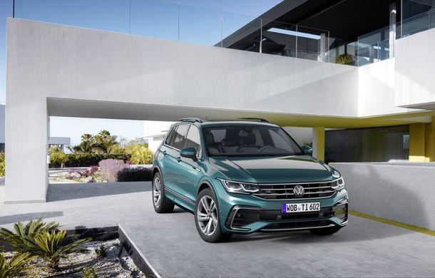 Volkswagen a prezentat Tiguan facelift: SUV-ul compact are versiune plug-in hybrid cu autonomie de până la 50 de kilometri și variantă de performanță cu 320 CP - Poza 2