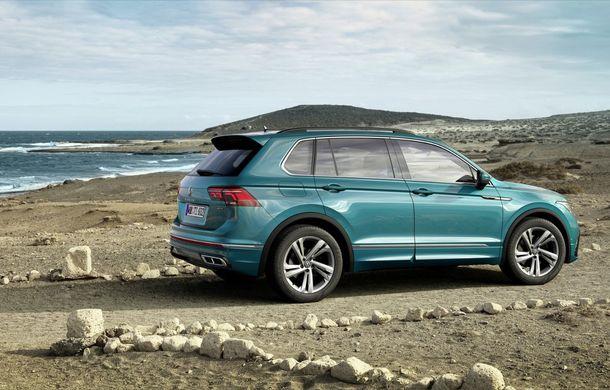 Volkswagen a prezentat Tiguan facelift: SUV-ul compact are versiune plug-in hybrid cu autonomie de până la 50 de kilometri și variantă de performanță cu 320 CP - Poza 11