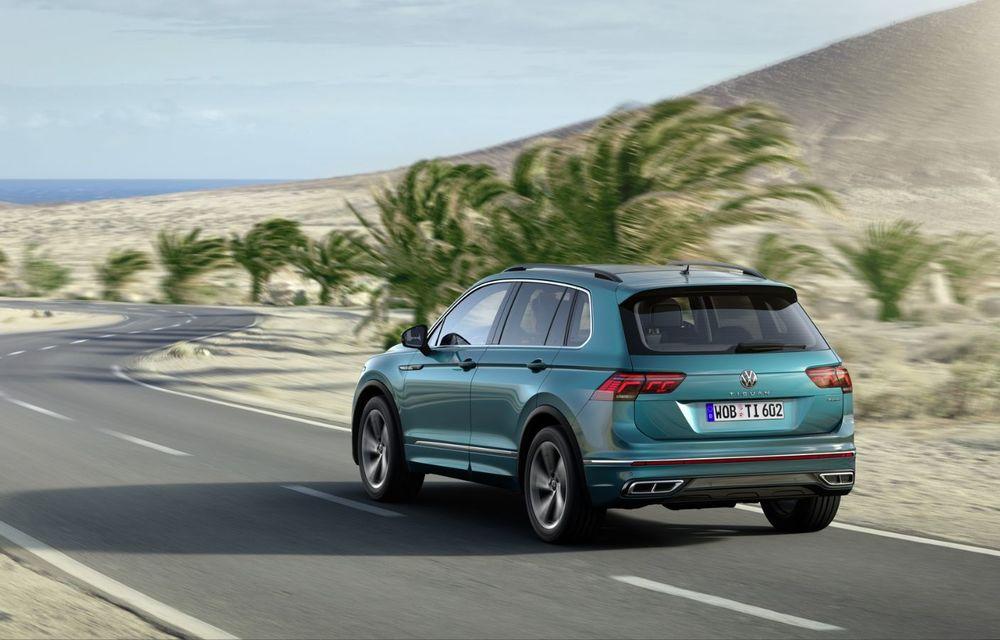 Volkswagen a prezentat Tiguan facelift: SUV-ul compact are versiune plug-in hybrid cu autonomie de până la 50 de kilometri și variantă de performanță cu 320 CP - Poza 10