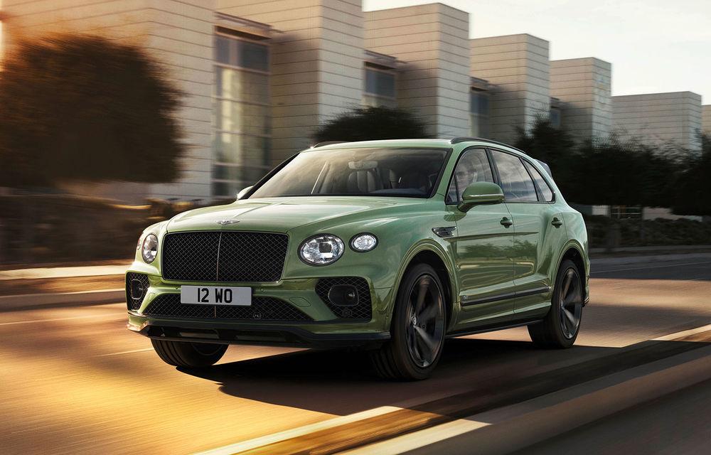 Bentley lansează Bentayga facelift: noutăți estetice, îmbunătățiri pentru interior și motorizare V8 - Poza 1