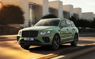 Bentley lansează Bentayga facelift: noutăți estetice, îmbunătățiri pentru interior și motorizare V8