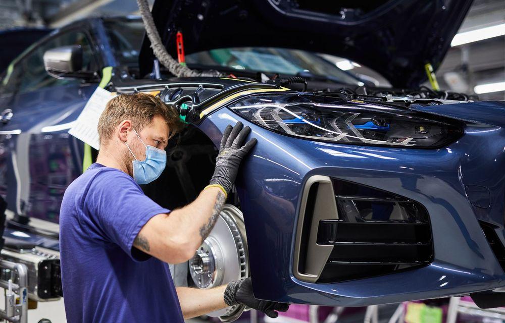 BMW a început producția modelelor Seria 4, Seria 5 facelift și Seria 6 GT facelift la uzina din Dingolfing - Poza 9