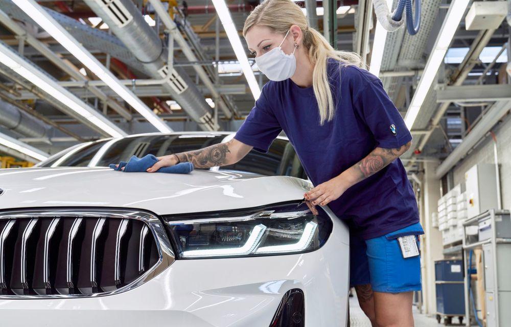 BMW a început producția modelelor Seria 4, Seria 5 facelift și Seria 6 GT facelift la uzina din Dingolfing - Poza 51