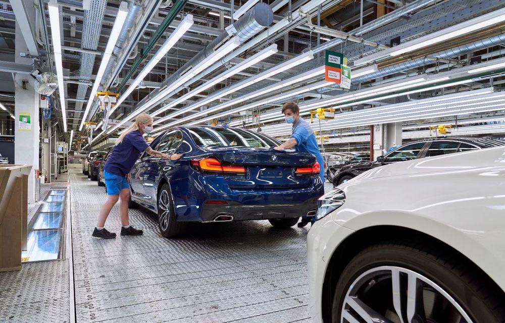 BMW a început producția modelelor Seria 4, Seria 5 facelift și Seria 6 GT facelift la uzina din Dingolfing - Poza 32
