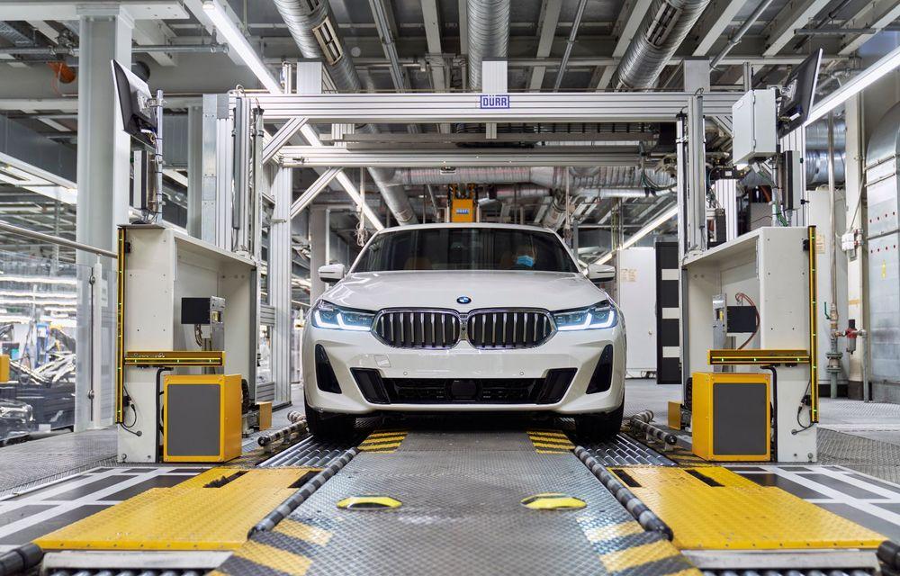 BMW a început producția modelelor Seria 4, Seria 5 facelift și Seria 6 GT facelift la uzina din Dingolfing - Poza 48