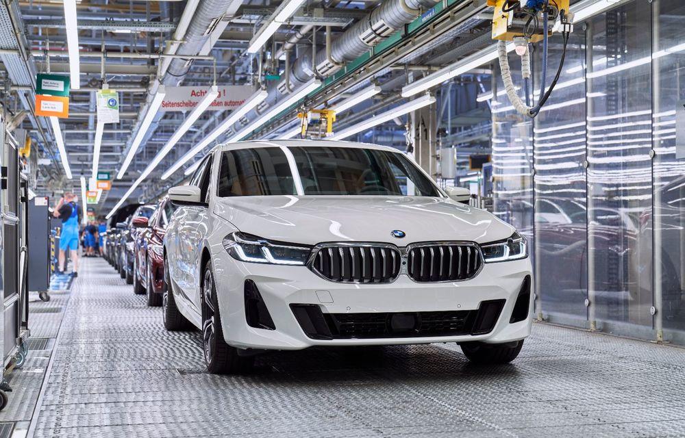 BMW a început producția modelelor Seria 4, Seria 5 facelift și Seria 6 GT facelift la uzina din Dingolfing - Poza 53