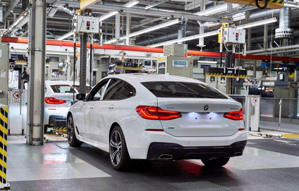 BMW a început producția modelelor Seria 4, Seria 5 facelift și Seria 6 GT facelift la uzina din Dingolfing - Poza 46