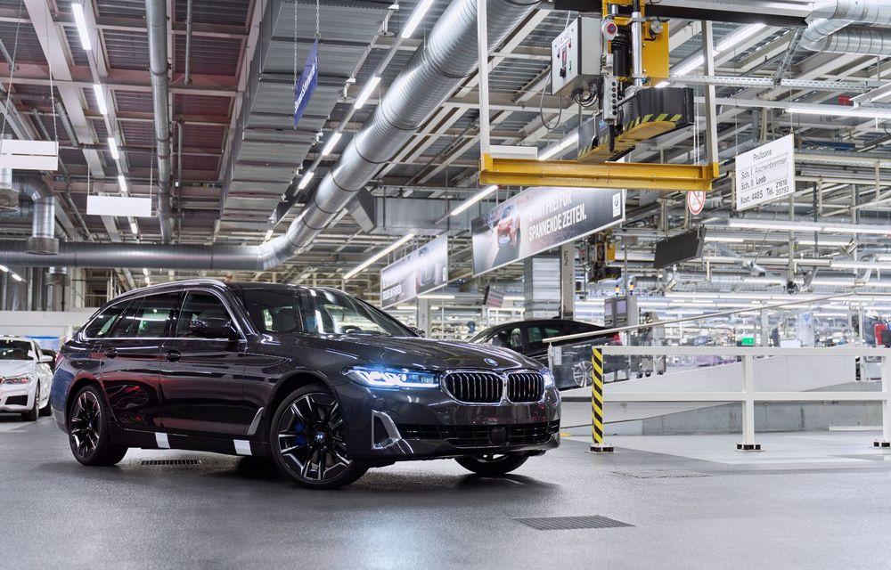 BMW a început producția modelelor Seria 4, Seria 5 facelift și Seria 6 GT facelift la uzina din Dingolfing - Poza 41