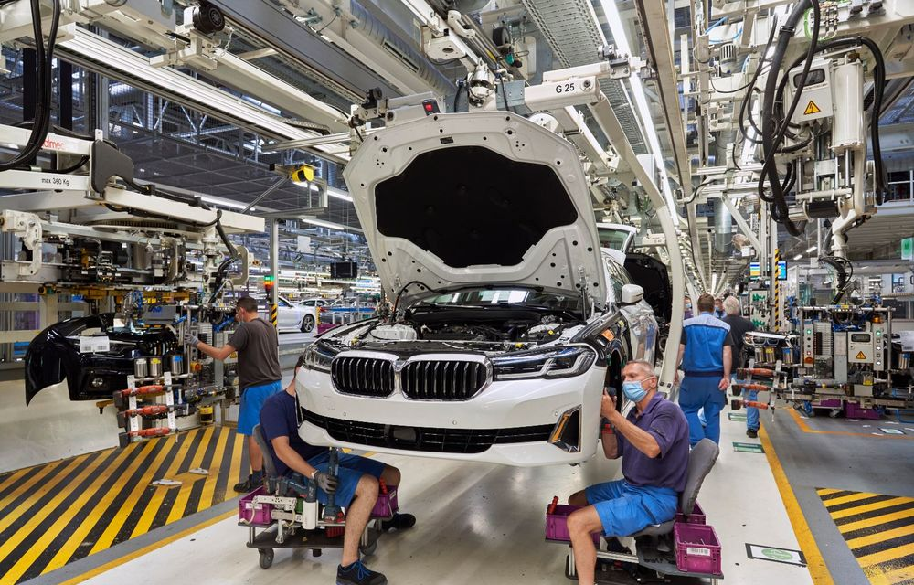 BMW a început producția modelelor Seria 4, Seria 5 facelift și Seria 6 GT facelift la uzina din Dingolfing - Poza 39