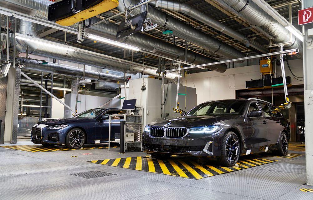 BMW a început producția modelelor Seria 4, Seria 5 facelift și Seria 6 GT facelift la uzina din Dingolfing - Poza 42