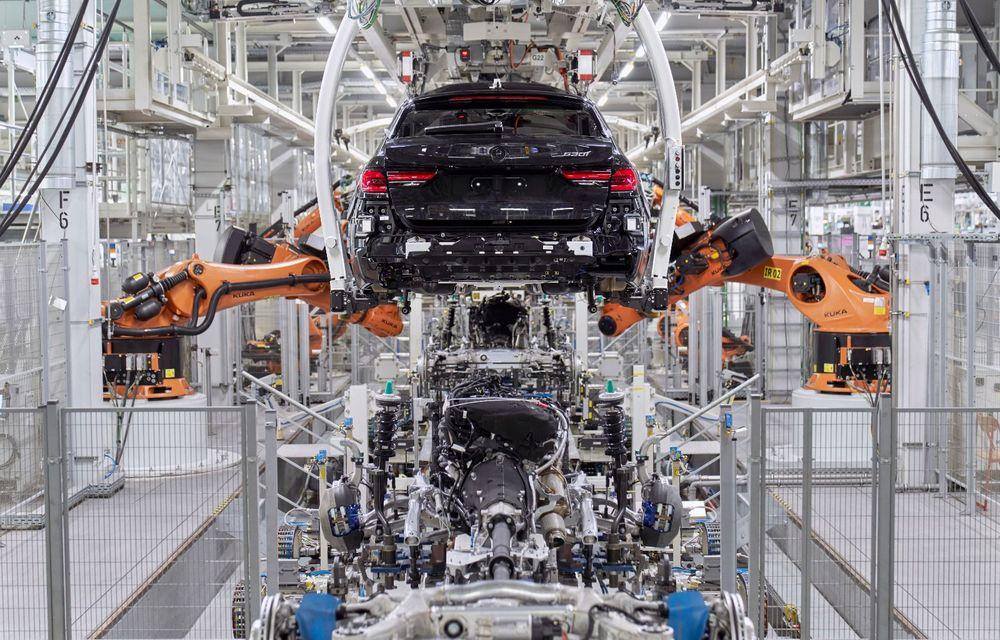 BMW a început producția modelelor Seria 4, Seria 5 facelift și Seria 6 GT facelift la uzina din Dingolfing - Poza 40