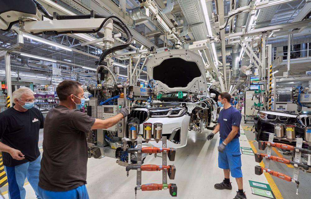 BMW a început producția modelelor Seria 4, Seria 5 facelift și Seria 6 GT facelift la uzina din Dingolfing - Poza 38