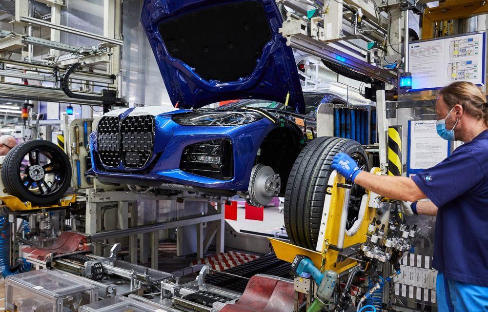BMW a început producția modelelor Seria 4, Seria 5 facelift și Seria 6 GT facelift la uzina din Dingolfing - Poza 8