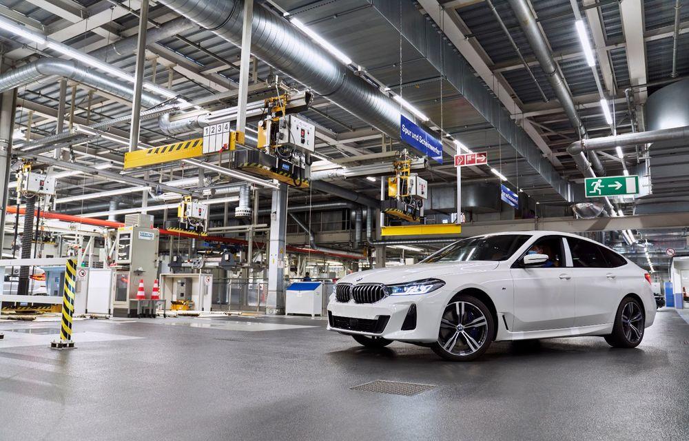 BMW a început producția modelelor Seria 4, Seria 5 facelift și Seria 6 GT facelift la uzina din Dingolfing - Poza 45