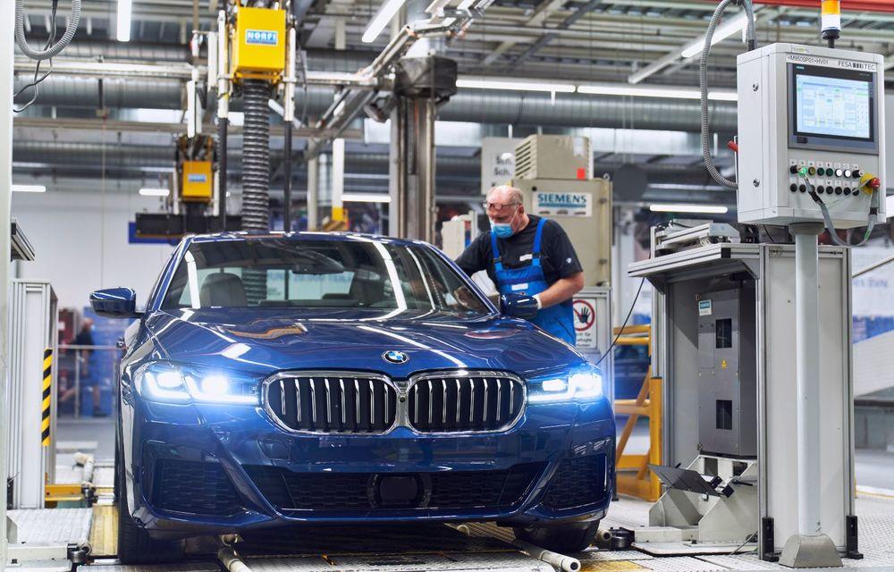 BMW a început producția modelelor Seria 4, Seria 5 facelift și Seria 6 GT facelift la uzina din Dingolfing - Poza 36