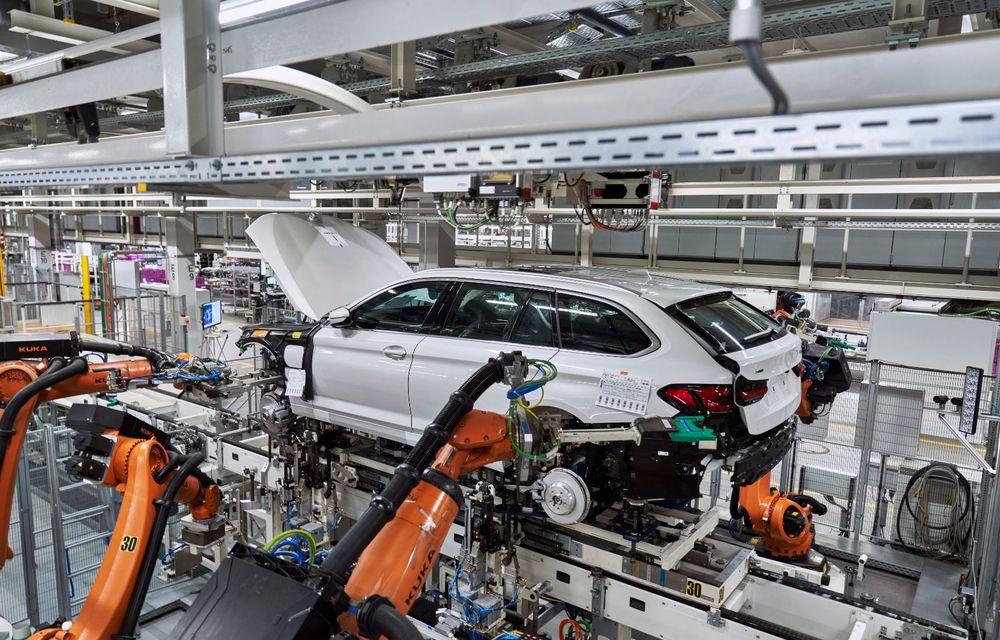 BMW a început producția modelelor Seria 4, Seria 5 facelift și Seria 6 GT facelift la uzina din Dingolfing - Poza 37