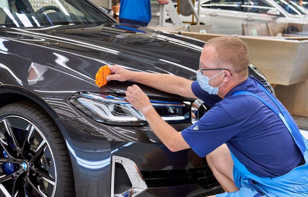 BMW a început producția modelelor Seria 4, Seria 5 facelift și Seria 6 GT facelift la uzina din Dingolfing - Poza 43
