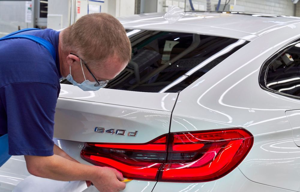 BMW a început producția modelelor Seria 4, Seria 5 facelift și Seria 6 GT facelift la uzina din Dingolfing - Poza 50